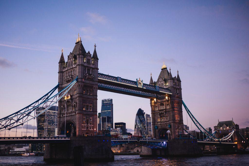 pont de Londres en soirée